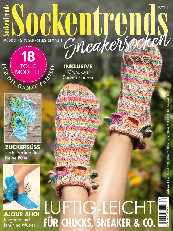Sockentrends Nr.50/2018 - Sneakersocken