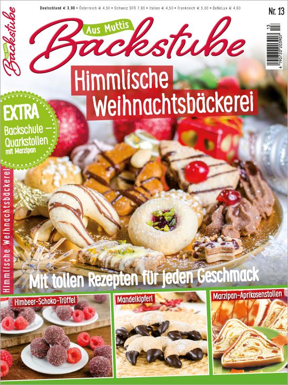 Aus Muttis Backstube Nr. 13/2018- Himmlische Weihnachtsbäckerei