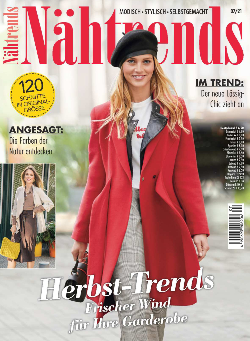 Nähtrends Nr. 07/2021 - Herbst-Trends