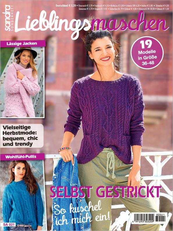 Sandra Sonderheft - Lieblingsmaschen - Selbst gestrickt