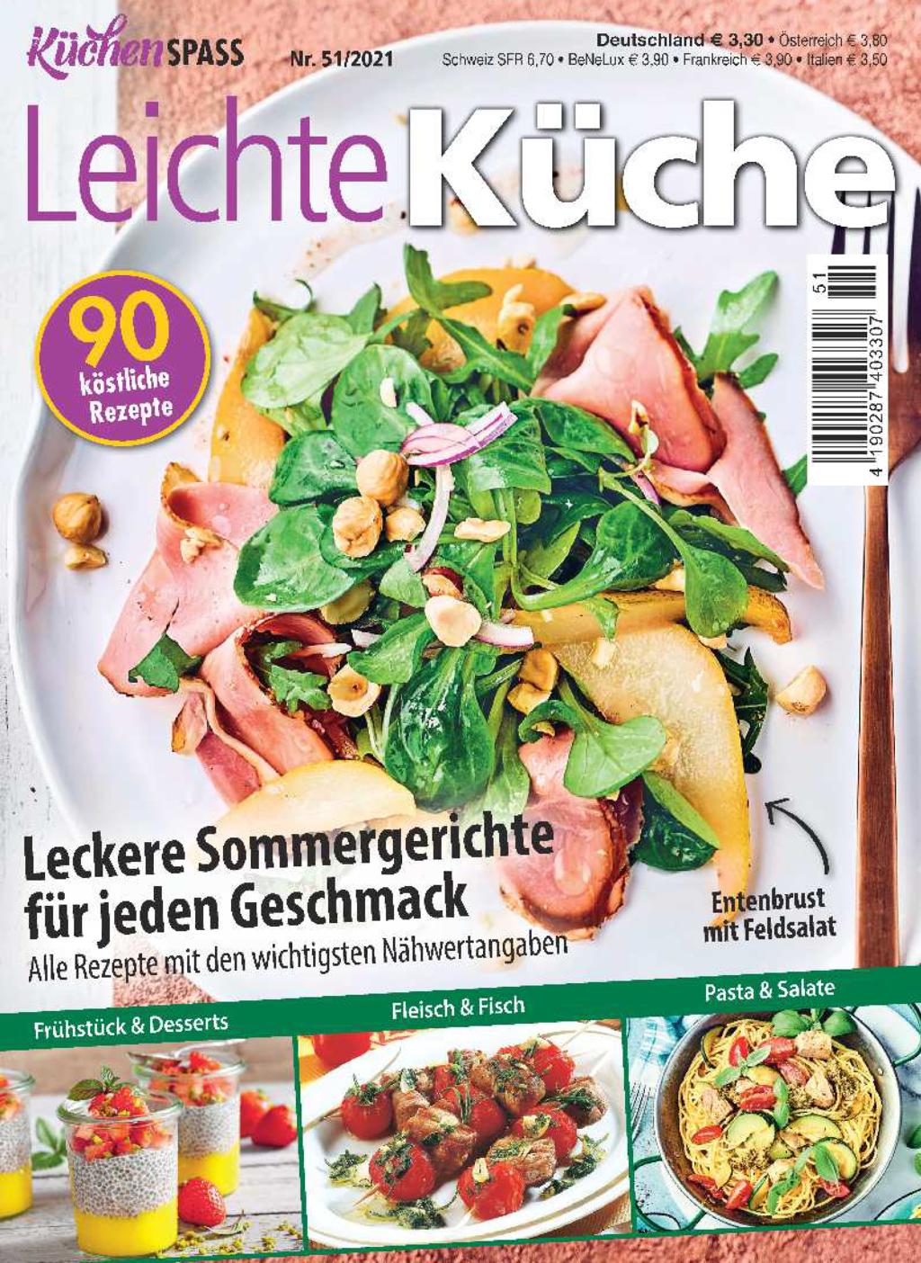 KüchenSPASS Nr. 51/2021 - Leckere Sommergerichte für jeden Geschmack
