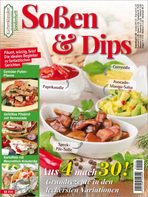 Küchenklassiker Sonderheft -  Soßen & Dips
