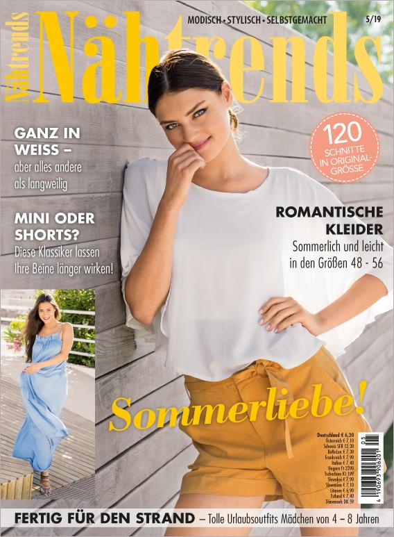 Nähtrends Nr. 05/2019 - Sommerliebe