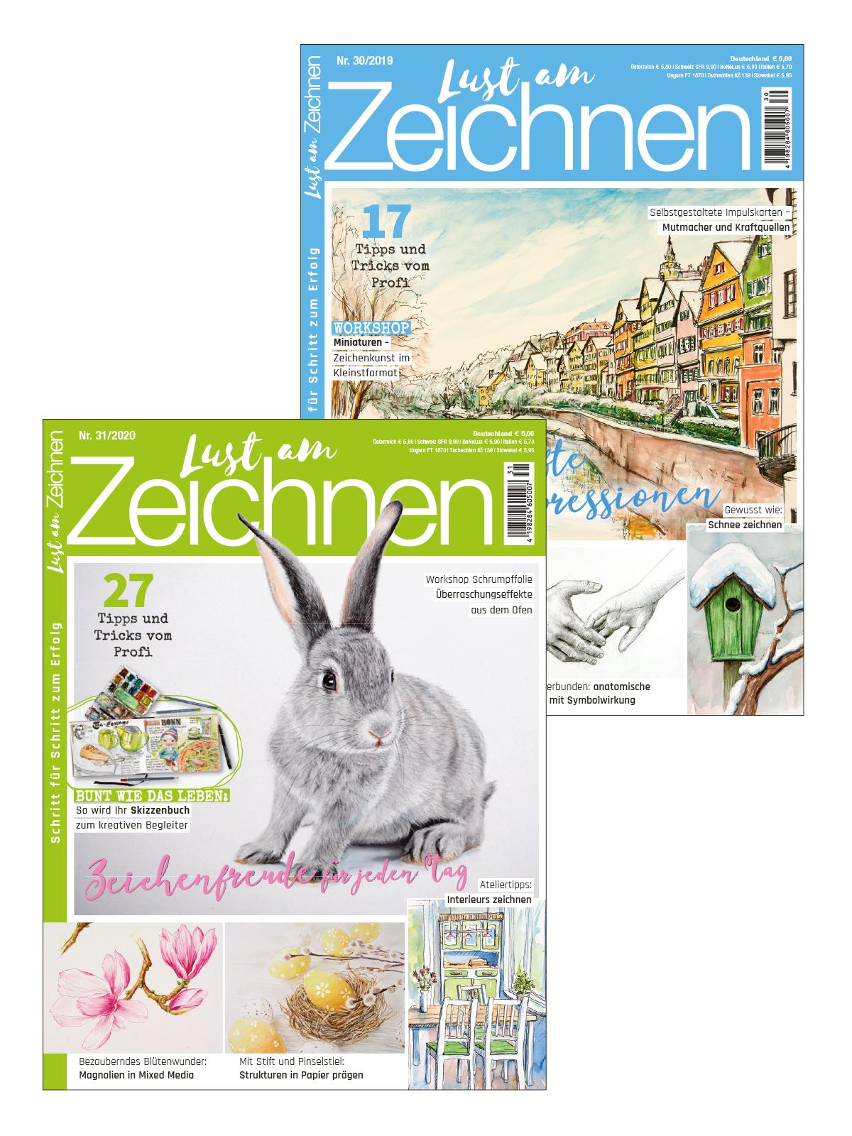 2 Zeitschriften statt Euro 10,00 nur Euro 5,00 zum Spartarif