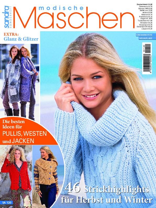 Sandra Sonderheft SA120 - Strickhighlights für Herbst und Winter