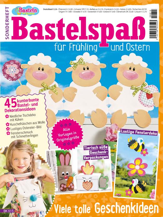 Basteln mit Kinder Sonderheft - Bastelspaß für Frühling & Ostern