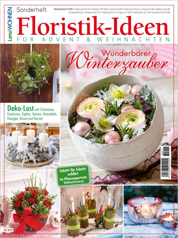 Lena Wohnen Sonderheft - Floristik-Ideen für Advent und Weihnachten