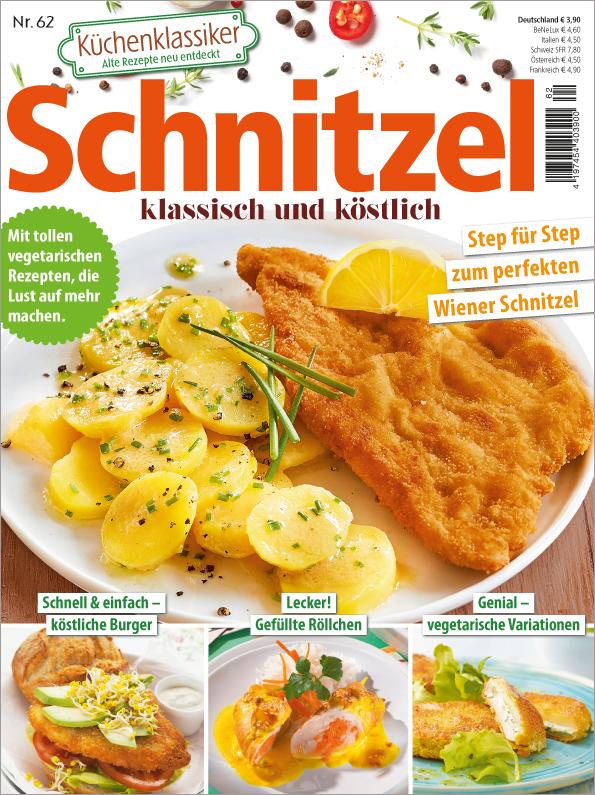 Küchenklassiker Nr. 62/2018  - Schnitzel