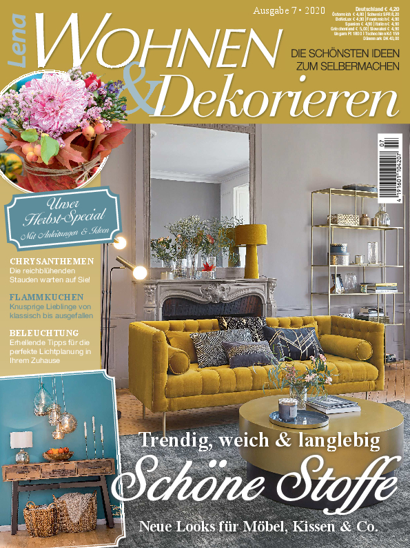 Lena Wohnen & Dekorieren Nr. 20007 - Schöne Stoffe - trendig, weich &langlebig