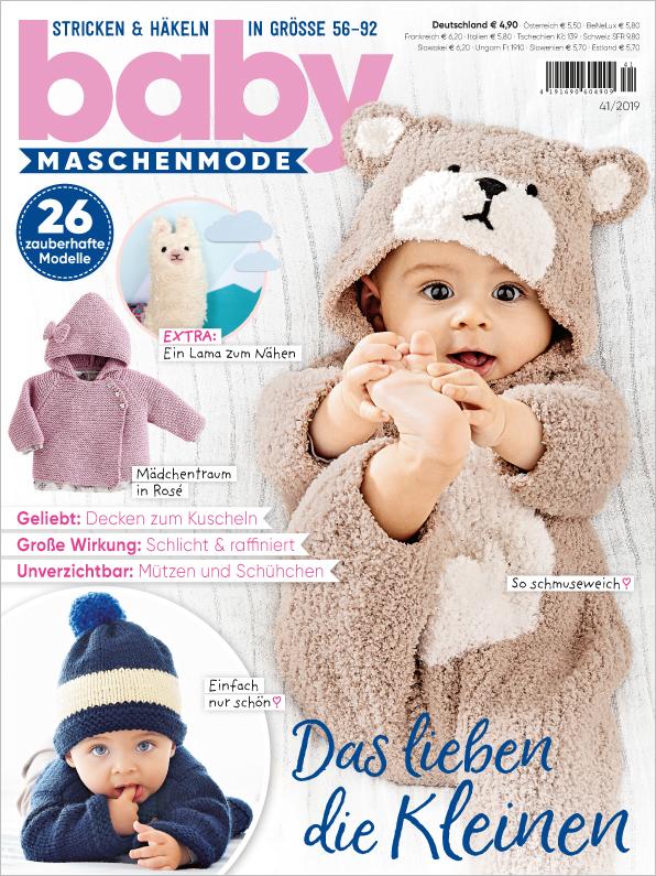 Baby Maschenmode Nr. 41/2019 - Das lieben die Kleinen