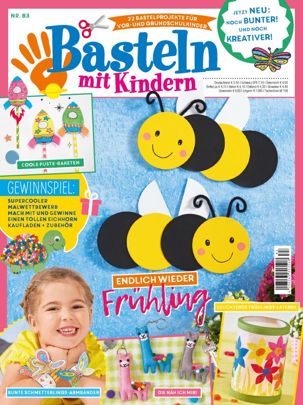 Basteln mit Kindern Nr. 83/2020 - Endlich wieder Frühling