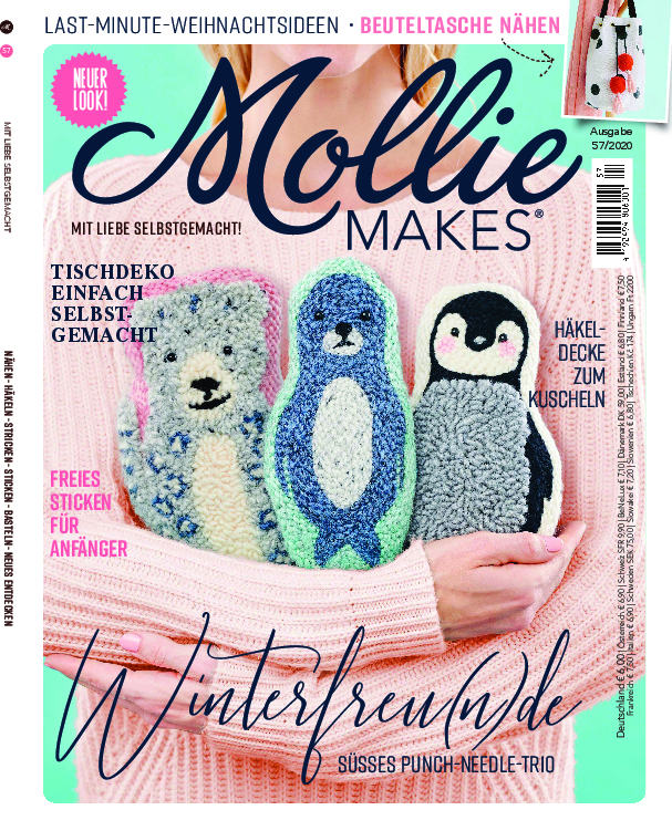 Mollie Makes Nr. 57/2020 - Winterfreu(n)de