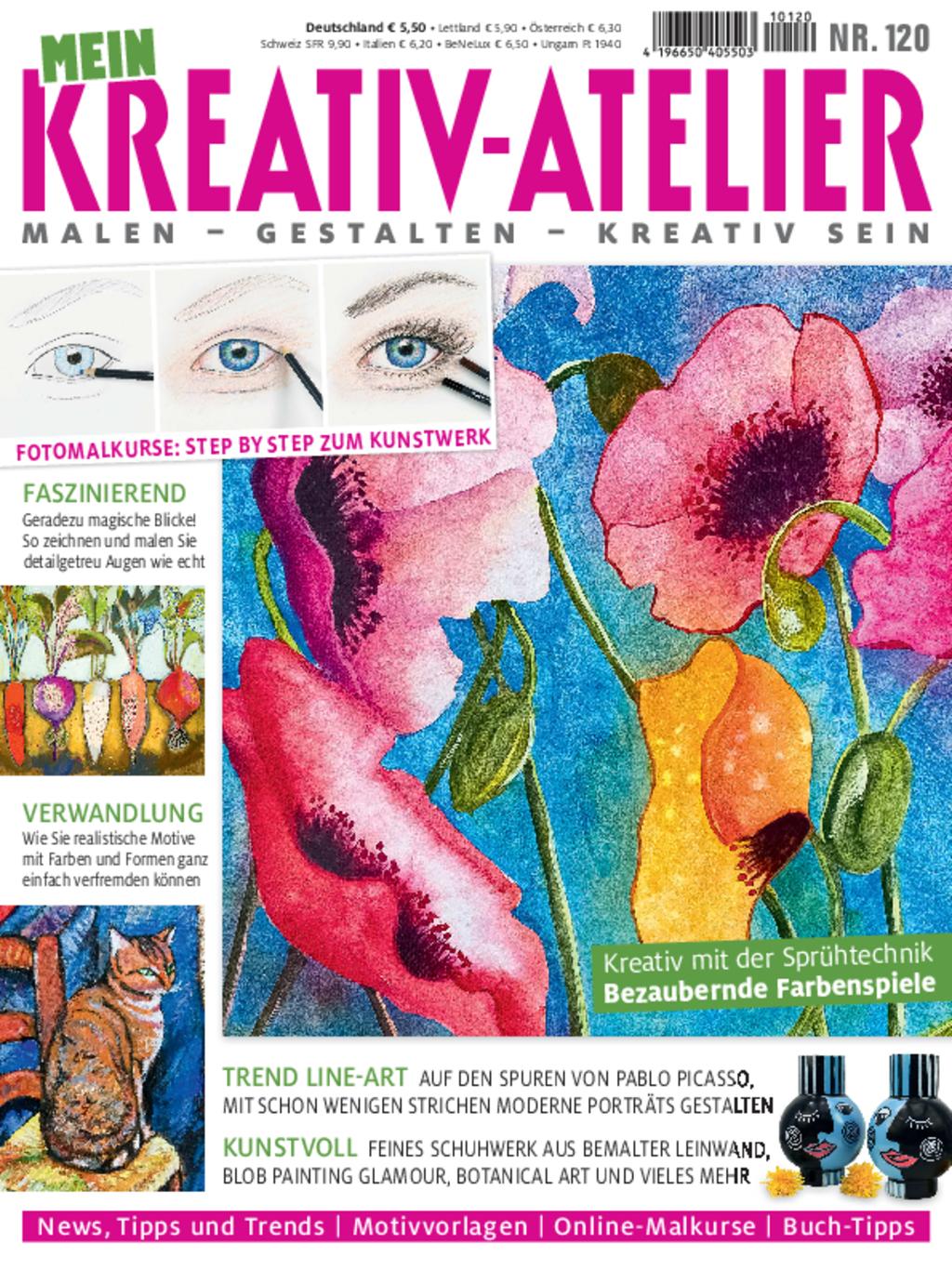 E-Paper: Mein Kreativ-Atelier Nr. 120 - Bezaubernde Farbenspiele