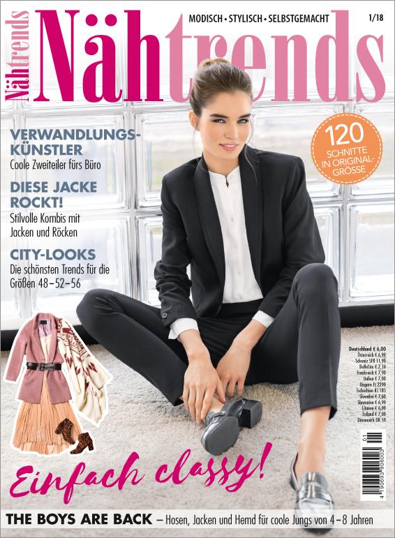 Nähtrends Nr. 01/2018 - Einfach classy!