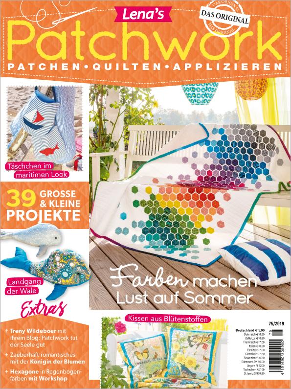 Lena´s Patchwork Nr. 75/2019 - Farben machen Lust auf Sommer