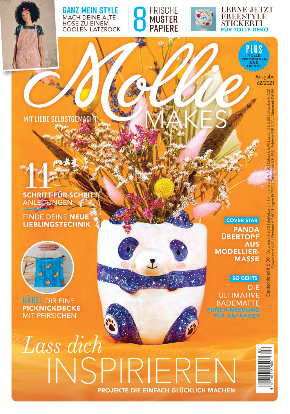 Mollie Makes Nr. 62/2021 - Lass dich inspirieren!