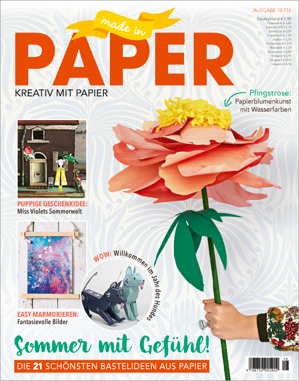 Made in Paper Nr. 16/2018 - Sommer mit Gefühl!