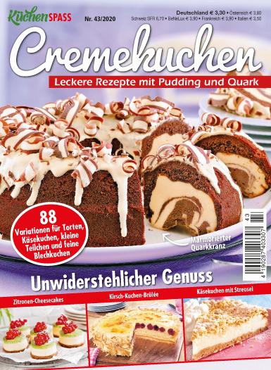 Küchenspaß 43/2020 - Cremekuchen - Leckere Rezepte mit Pudding & Quark