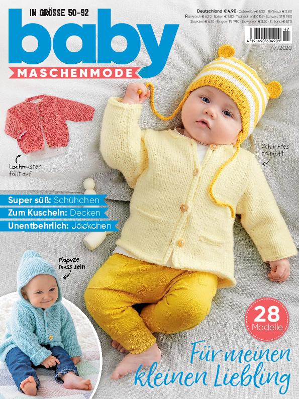 Baby Maschenmode 47/2020 - Für meinen kleinen Liebling