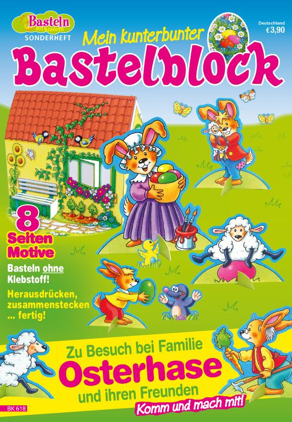 Basteln mit Kinder Sonderheft - Mein kunterbunter Bastelblock
