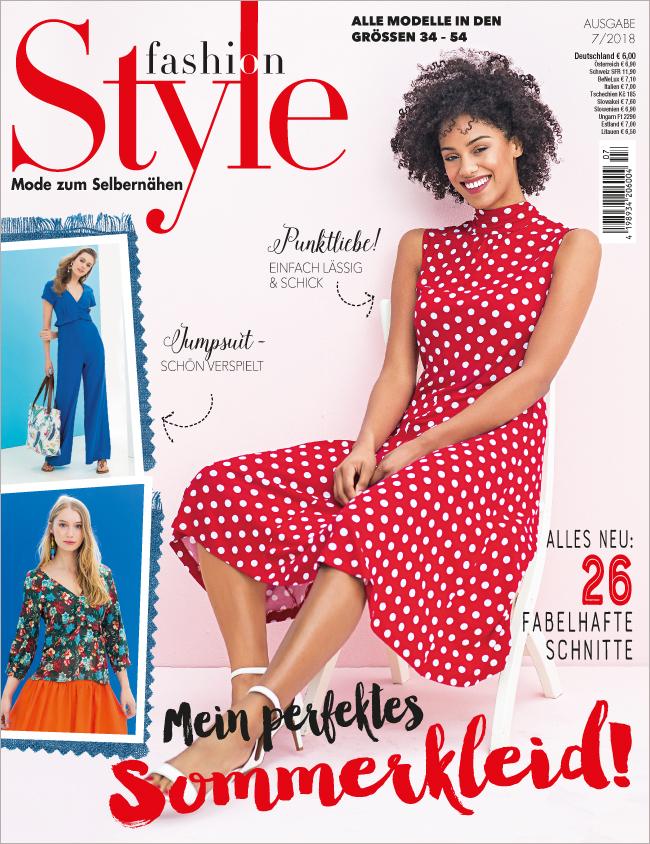 Fashion Style Nr. 07/2018 - Mein perfektes Sommerkleid!
