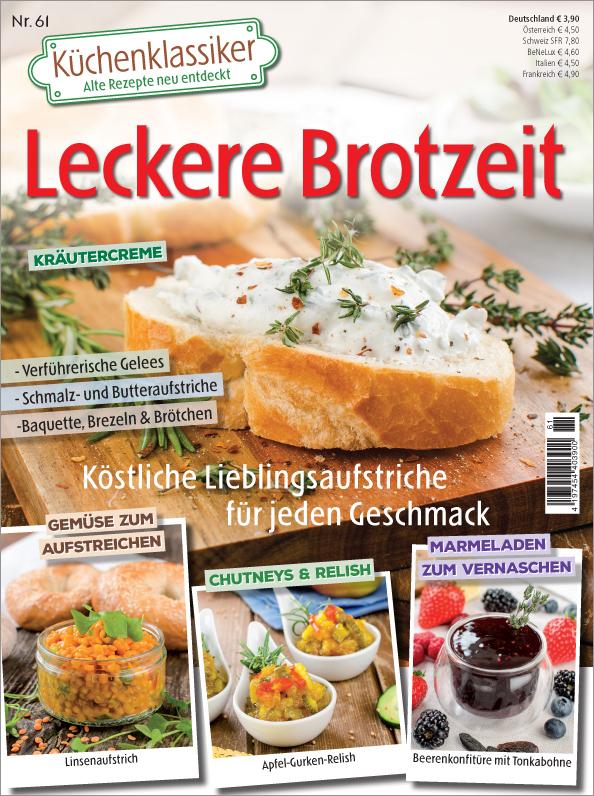 Küchenklassiker Nr. 61/2018 - Leckere Brotzeit