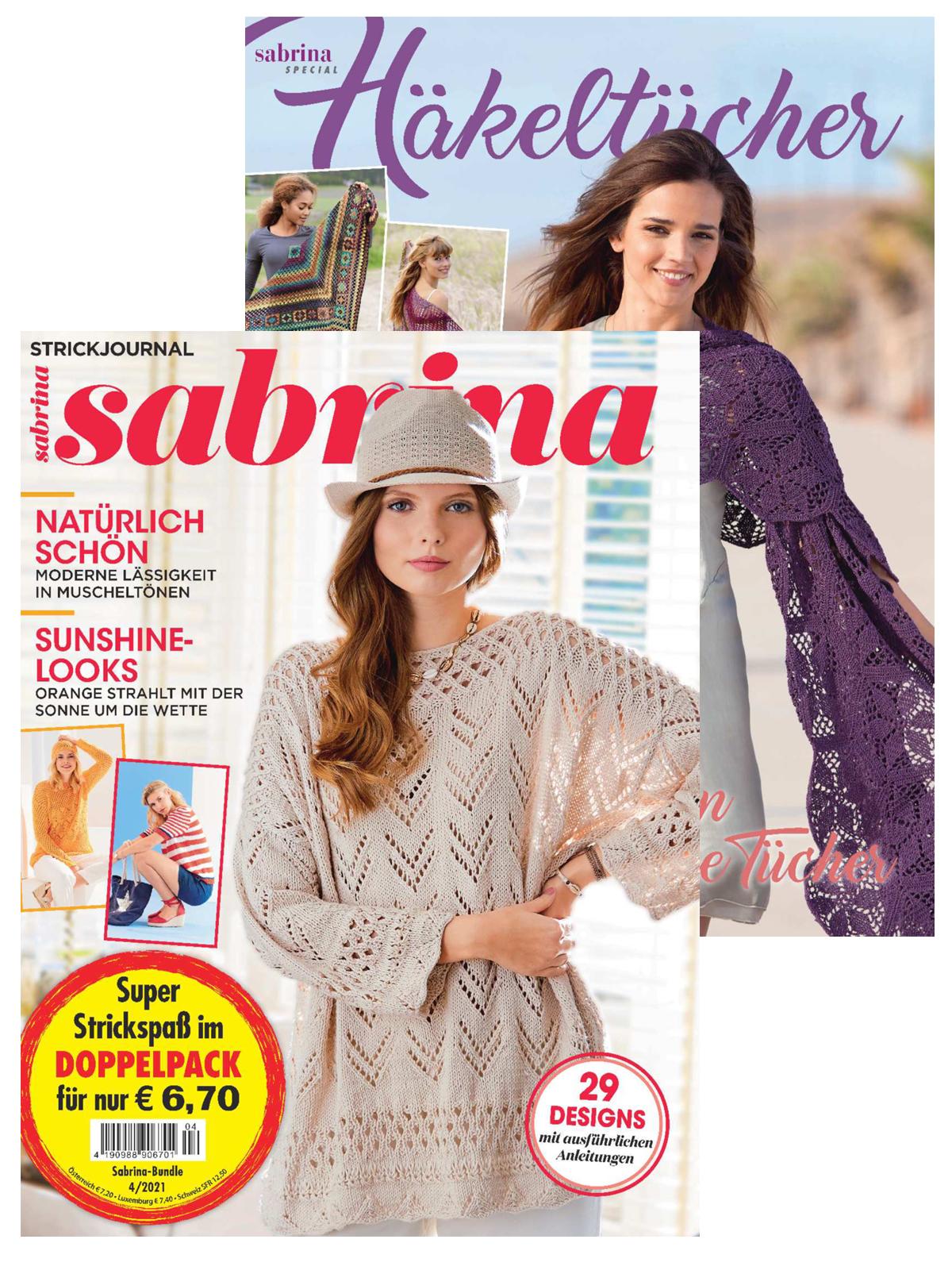 2 Zeitschriften: Sabrina Nr. 04/2021und S 2535
