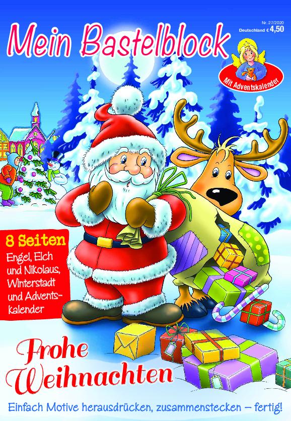 Bastelblock Weihnachten