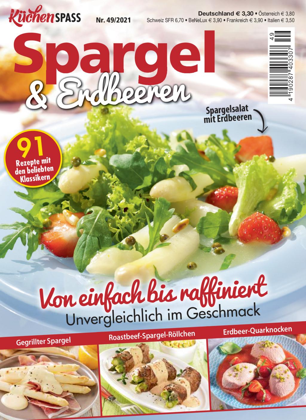KüchenSPASS 49/2021 - Von einfach bis raffiniert