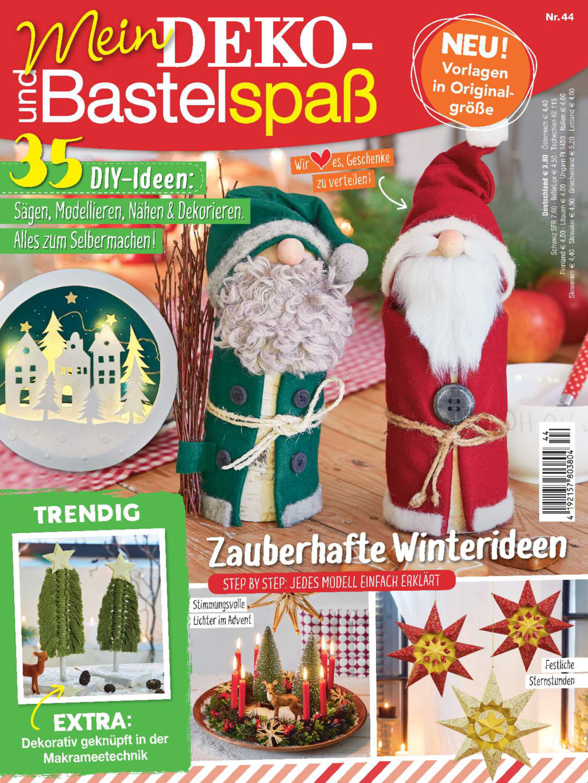 E-Paper: Mein Deko- und Bastelspaß Nr. 44/2021 - Zauberhafte Winterideen