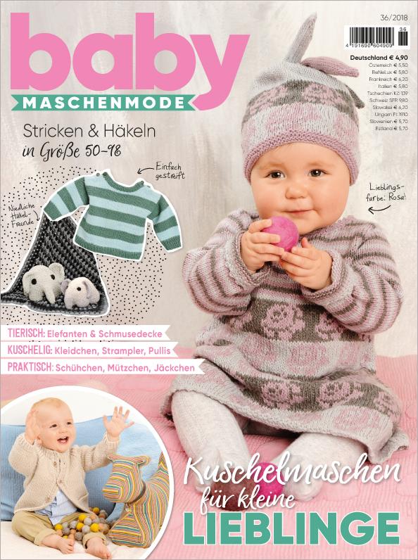 Baby Maschenmode Nr. 36/2018 - Kuschelmaschen für kleine Lieblinge