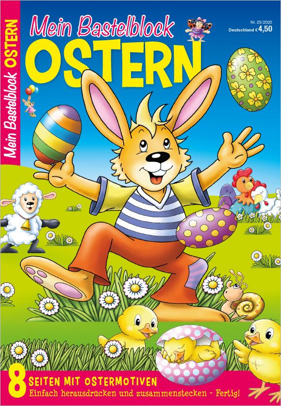 Mein Bastelblock - Ostern