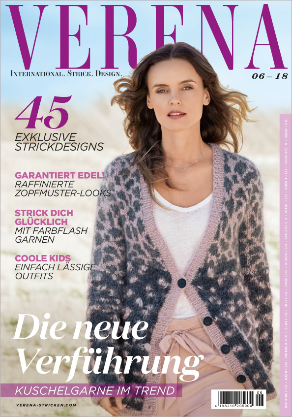 Verena Stricken Nr. 06/2018 - Die neue Verführung