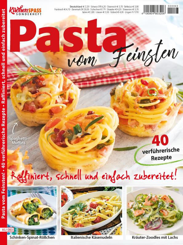 Küchenspass Sonderheft - Pasta vom Feinsten!