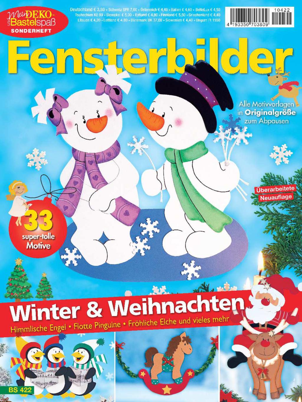 Mein Deko- und Bastelspaß Sonderheft Nr. BS422 - Winter & Weihnachten