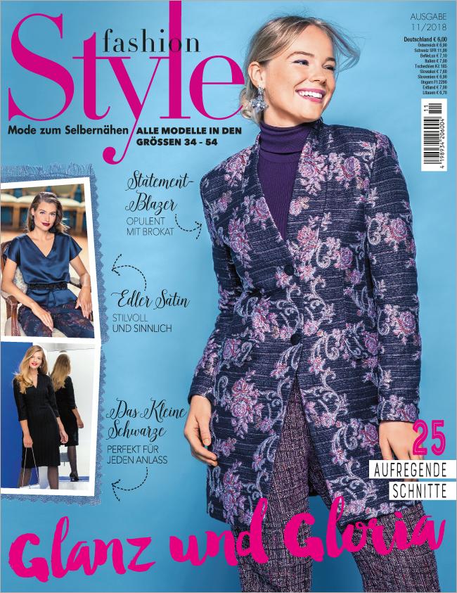 Fashion Style Nr.11/2018  - Glanz und Gloria