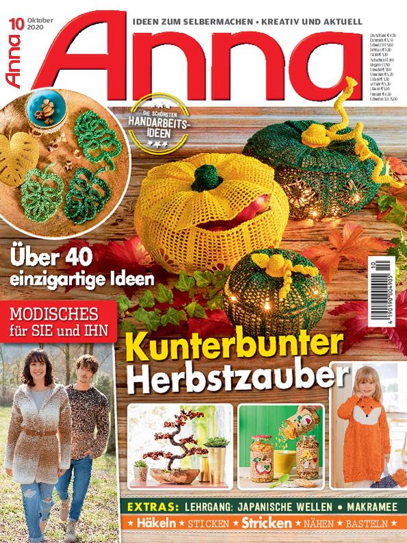 E-Paper: ANNA Nr. 10/2020 - Kunterbunter Herbstzauber