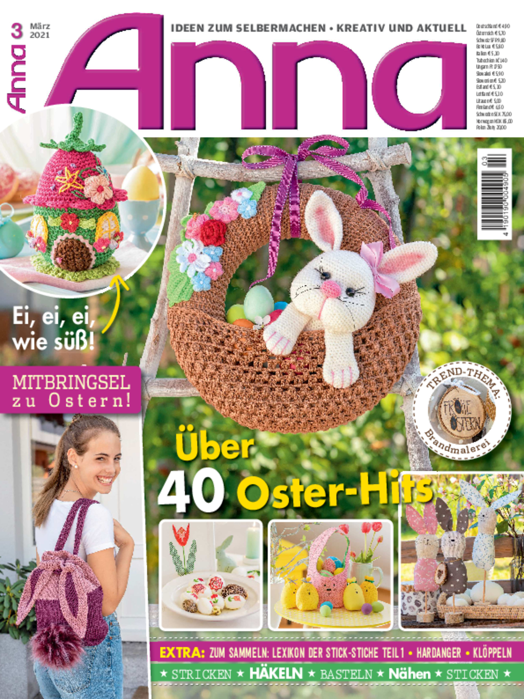Anna Nr. 3/2021 - Über 40 Oster-Hits
