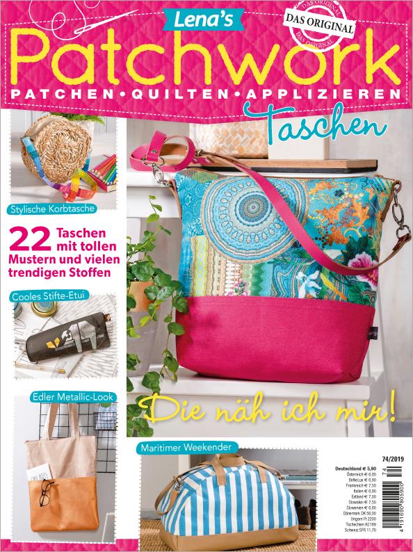 Lena´s Patchwork Nr. 74/2019 - Taschen