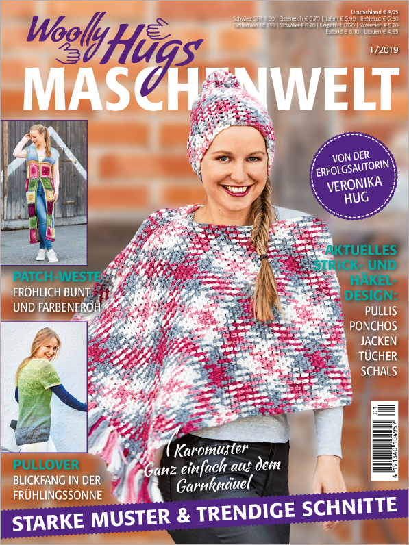 Woolly Hugs Maschenwelt Nr. 01/2019