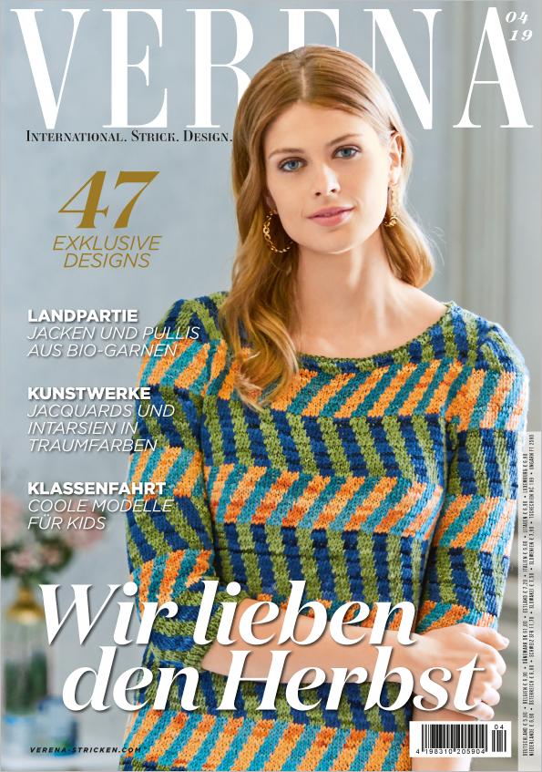 Verena Stricken Nr. 04/2019 - Wir lieben den Herbst