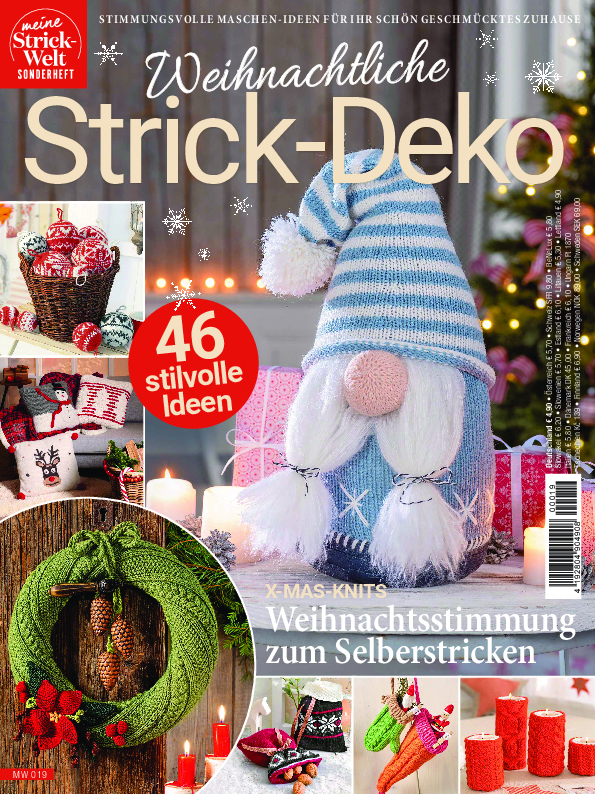 Meine Strickwelt Sonderheft MW 019 - Weihnachtliche Strick-Deko