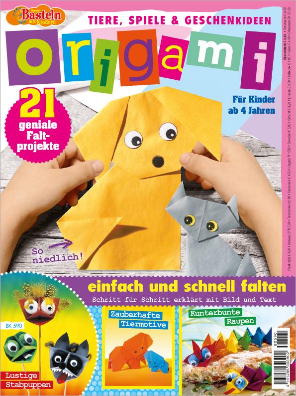 Basteln mit Kindern Spezial - Origami - einfach und schnell falten