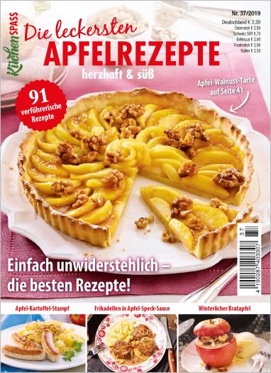 Küchenspaß 37/2019 - Die leckersten Apfelrezepte herzhaft & süß
