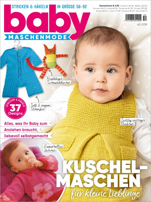 Baby Maschenmode Nr. 44/2019 - Kuschel-Maschen für kleine Lieblinge