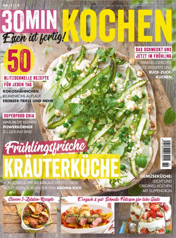 30 Minuten - Frühlingsfrische Kräuterküche