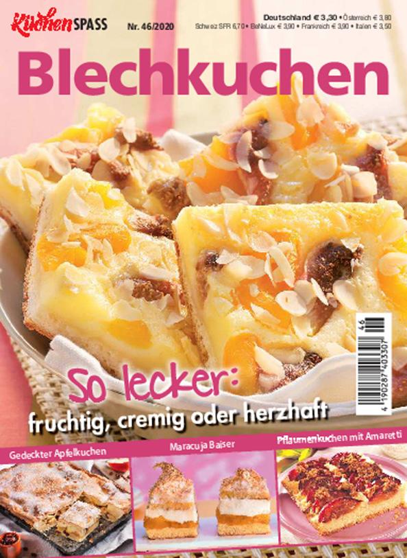 Küchenspaß 46/2020 - Blechkuchen