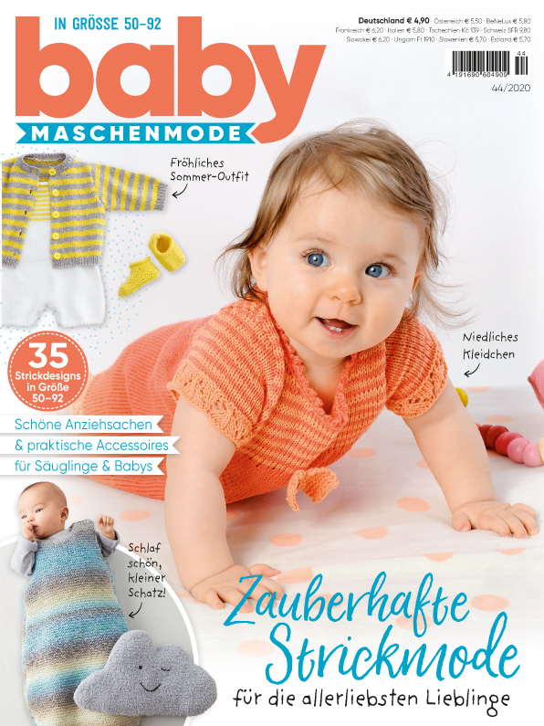 Baby Maschenmode Nr.44/2020 - Zauberhafte Strickmode