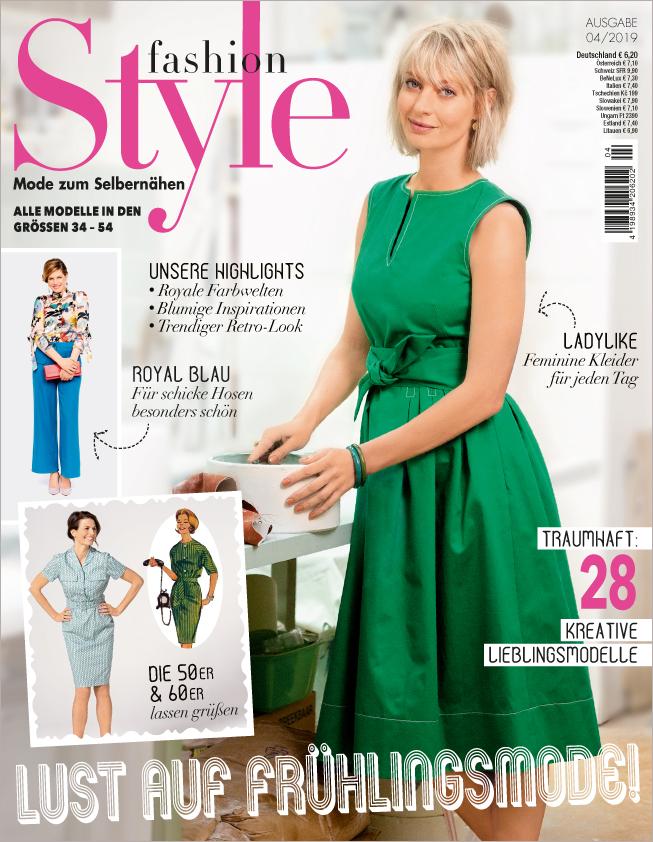 Fashion Style Nr. 04/2019 - Lust auf Frühlingsmode!