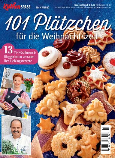Küchenspaß 47/2020 - 101 Plätzchen für die Weihnachtszeit